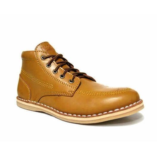 Beli Boots Leather Shoes Men S Sepatu Boots Pria Blackmaster Murah