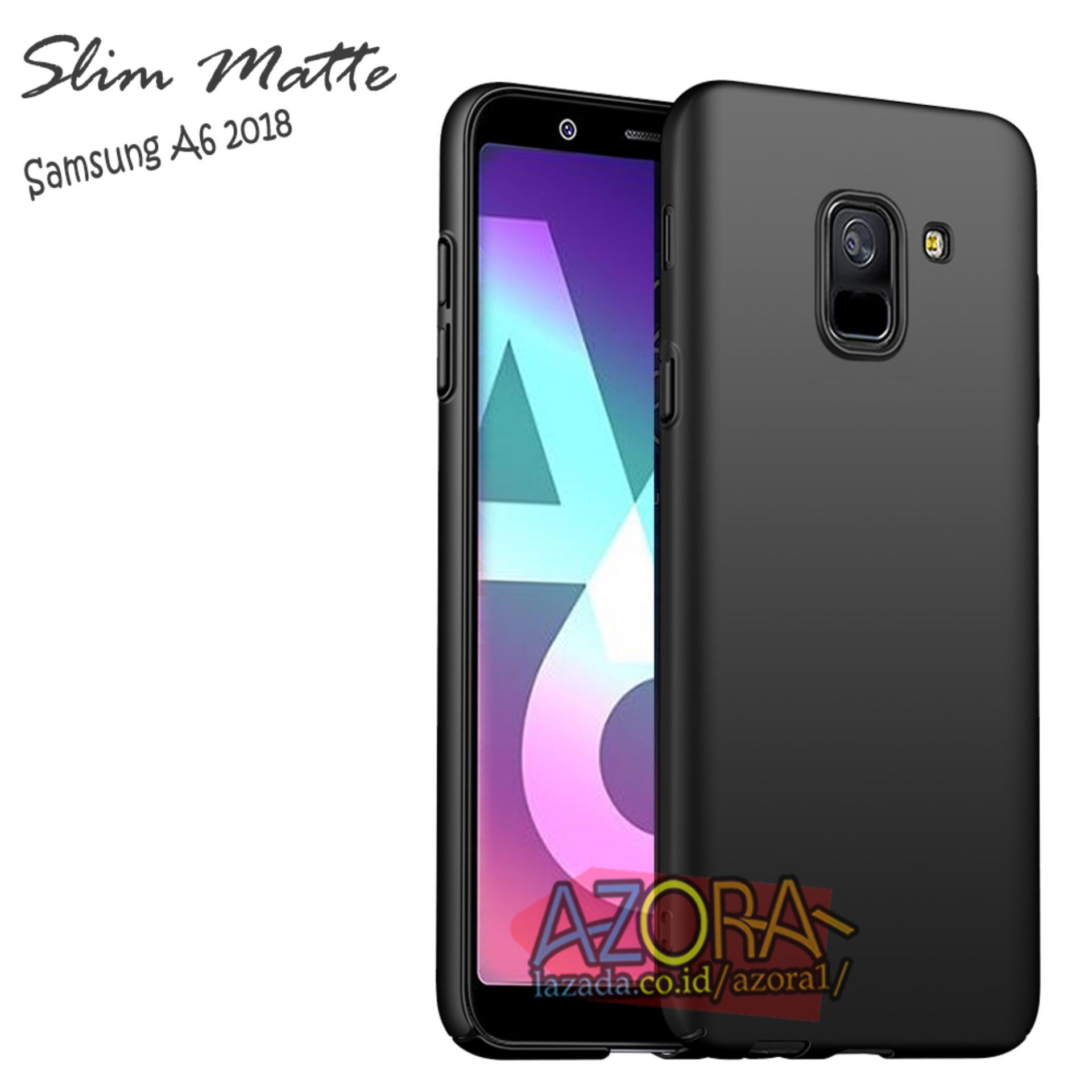 Fitur Case Slim Black Matte Samsung Galaxy A6 2018 Baby Skin