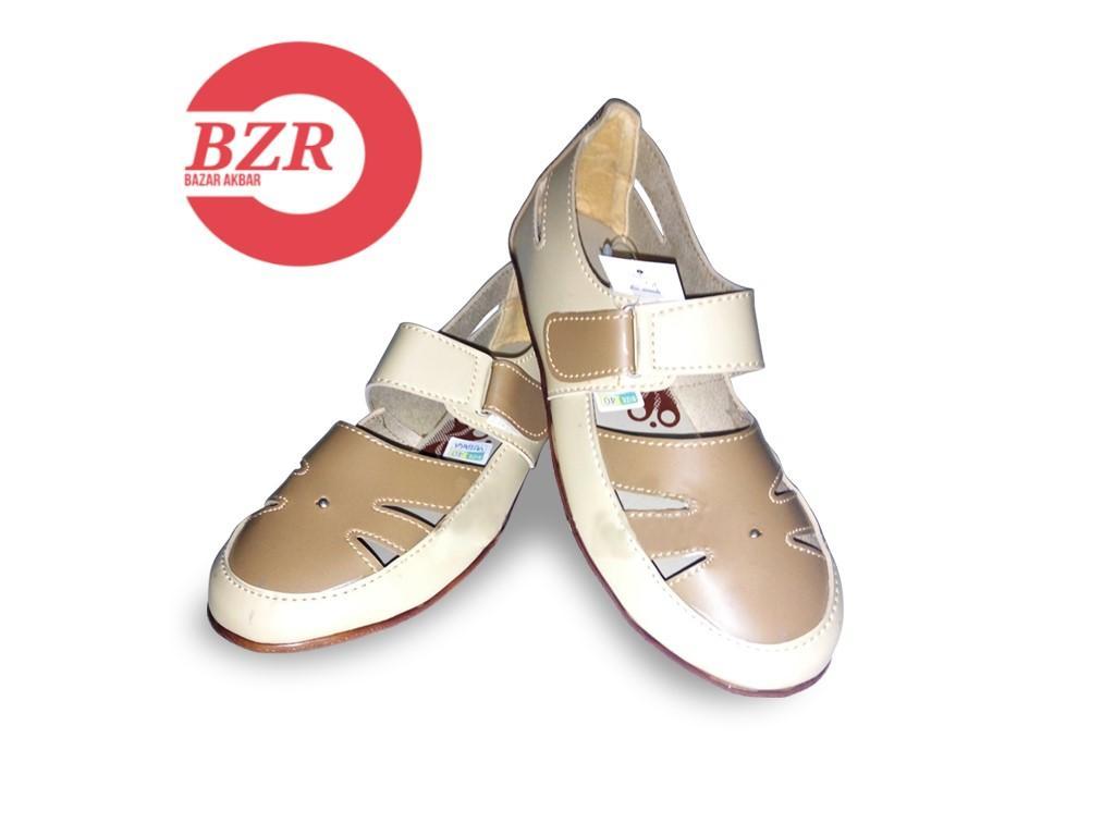 Yutaka flat shoes cream-jahe