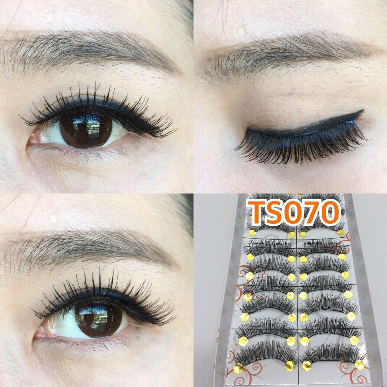 Kelebihan Bulu Mata Taiwan Eyelashes 10 Pairs Bulumata Palsu 217 Flase Eyelash Handmade Ts070 Pasang