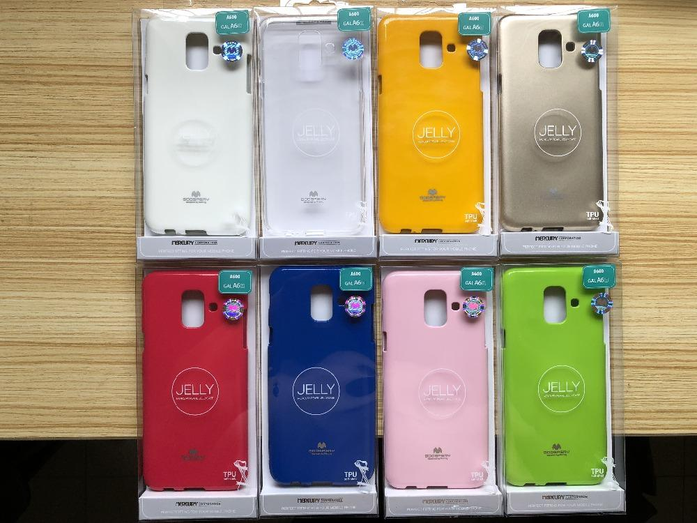 Review Mercury Jelly Soft Case For Samsung Galaxy A6 Plus 2018 Pink