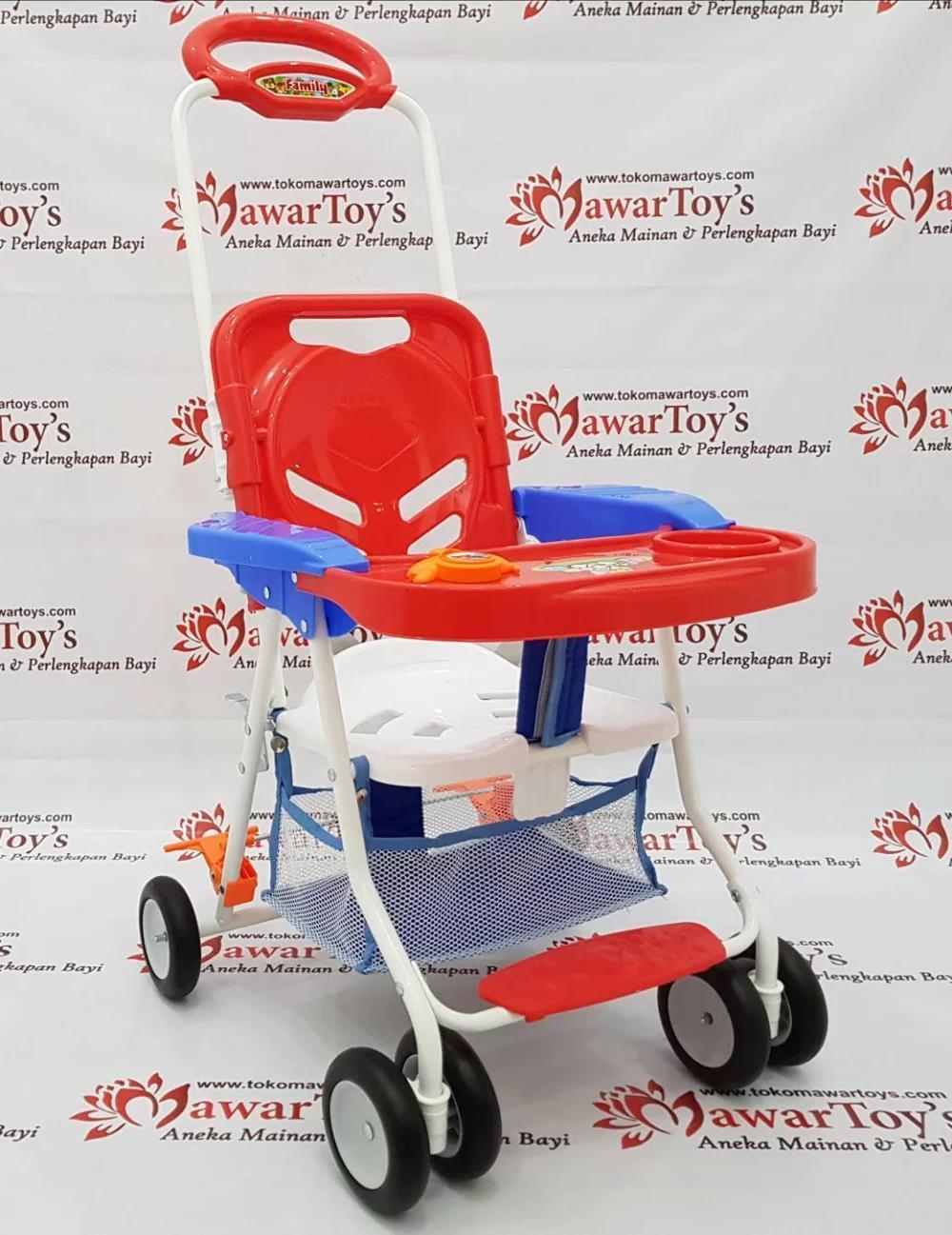 Fitur Meja Makan Bayi Family Chair Stroller Cs 8288 Kuning Dan Harga Anek Peralatan 3
