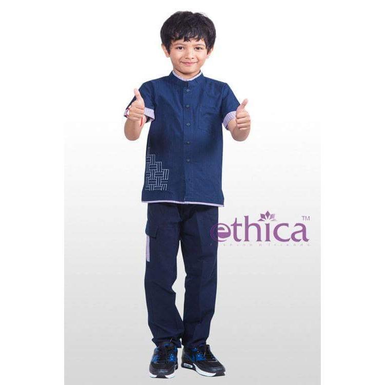 Ethica Moslem Fashion Koko Anak K 58 (Navy)