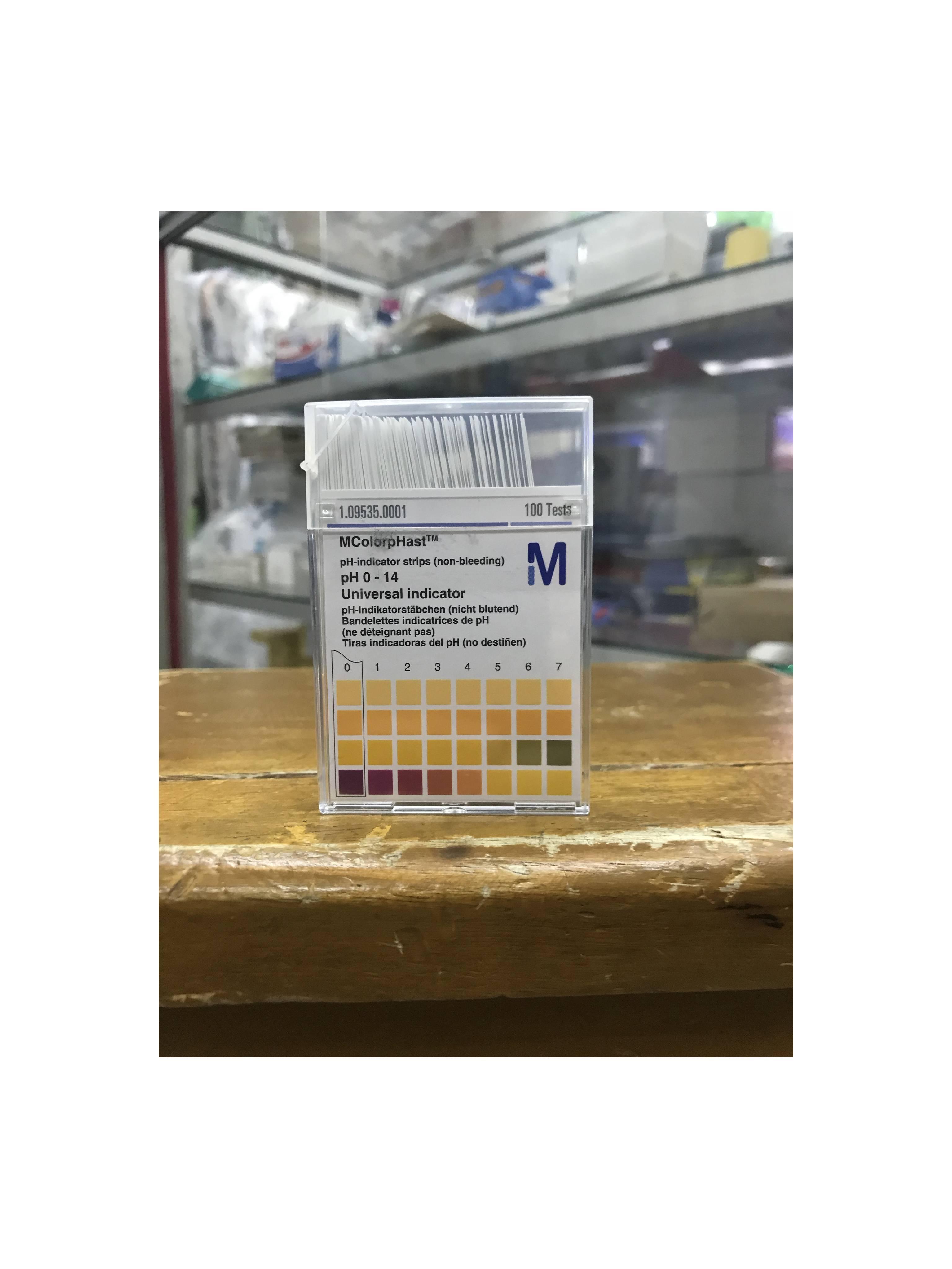 Kertas ph Merck Universal PH 0-14 / Lakmus / Merck / pH Paper merck