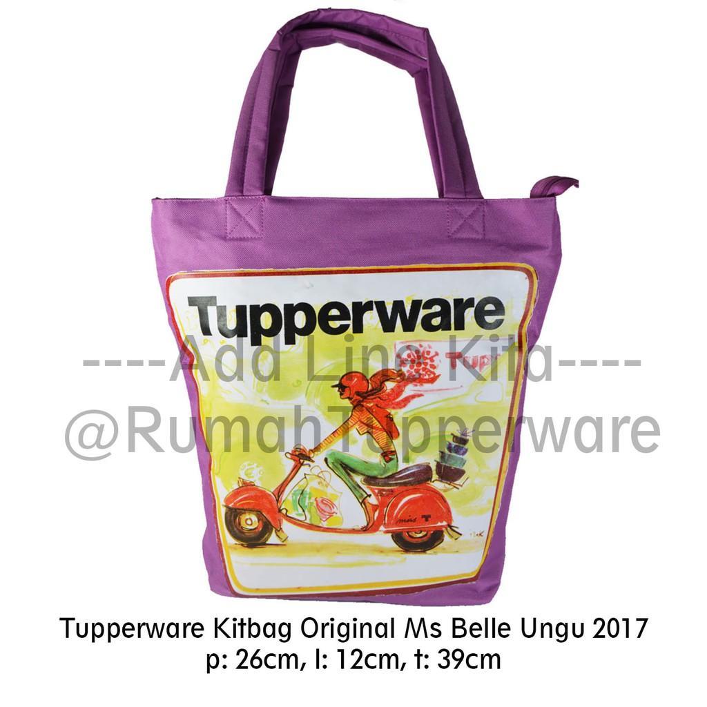 Tas Original Kitbag Miss Belle Tupperware Indonesia (2017)