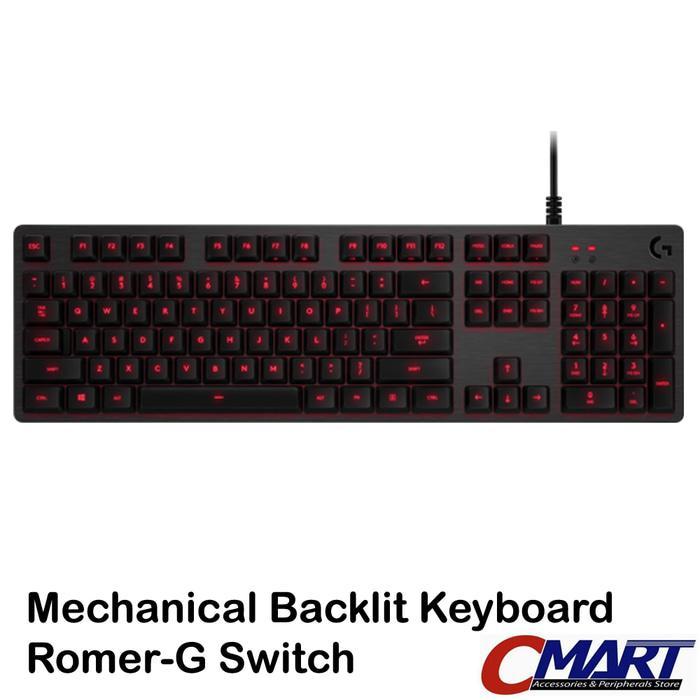 ORIGINAL - Logitech G413 CARBON Mechanical Backlit Gaming Keyboard - 920-008313