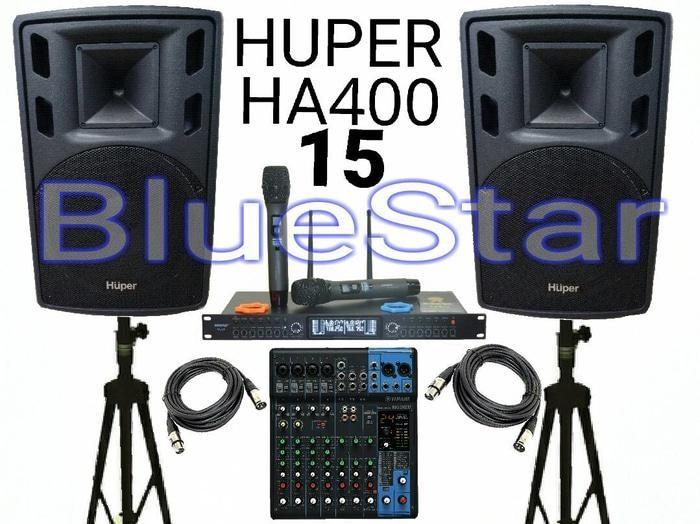ORIGINALS Paket Sound System HUPER + Yamaha Outdoor / Indoor (15 inch)