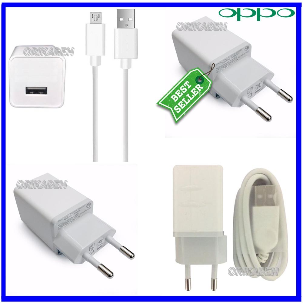 OPPO Travel Charger 2A Micro Usb Fast Charging - Charger Oppo F1S F3plus F1 Plus A57