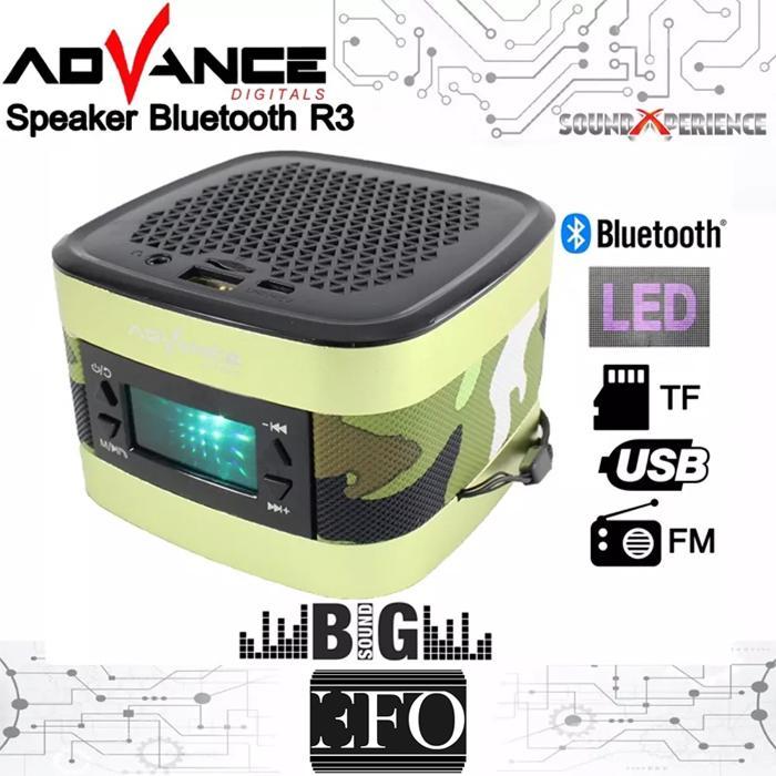 Advance Speaker Portable Bluetooth R3