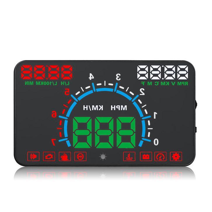 Perbandingan Harga Yang Terbaru Kategori 5 8 Inci E350 Hud Kepala Pameran Mobil Obd2 Digital Speedometer Mobil Gaya Di Tiongkok