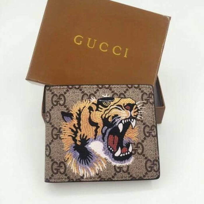Detail Gambar HARGA DISKON!!! Dompet Pria Gucci Bengal Tiger Print GG  Supreme Wallet Import Murah - wiEuoY Terbaru 69c6d37deb