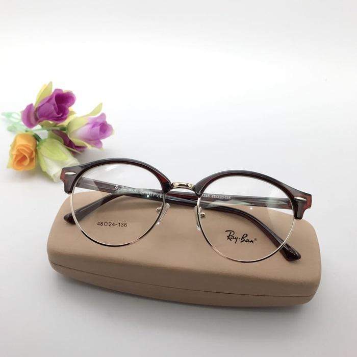 Kehebatan Frame Kacamata Minus Fashion Bd 6424 Bulat Pria Wanita 0aede00869