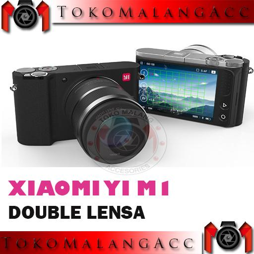 Xiaomi Yi M1 Mirrorless Paket 2 Lensa