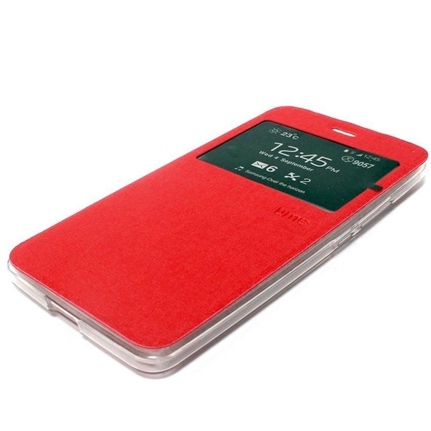 Ume sarung FlipCover Acer Liquid Jade S55 / Acer S55 Flip Shell - Merah