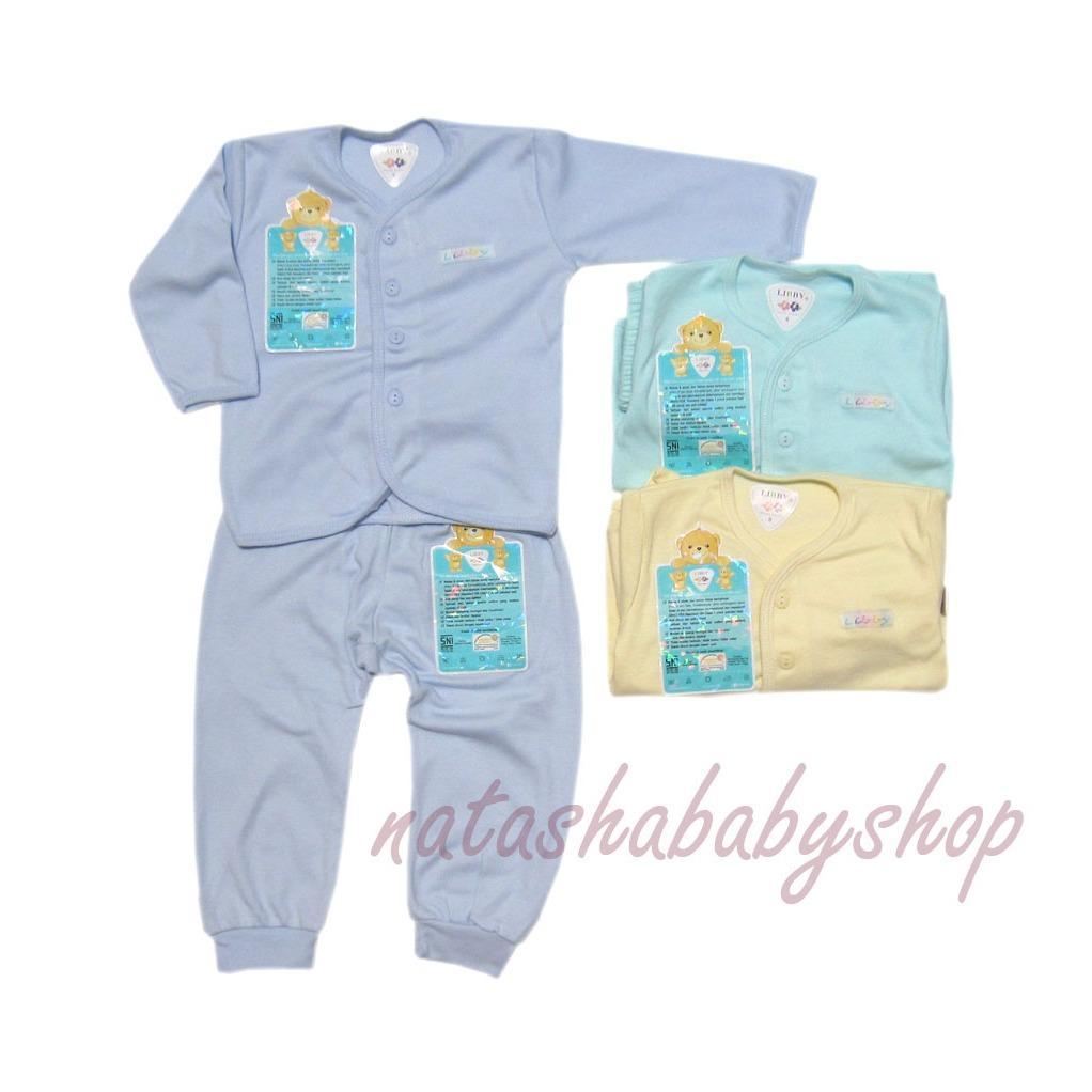Libby 3 setelan Baju Panjang dan Celana Panjang Warna sz SML