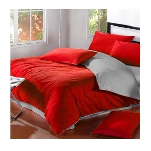 Jaxine Bedcover Set Polos Abu Mix Aneka Warna Bedcover Polos