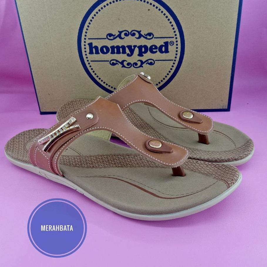 Ulasan Mengenai Homyped Sandal Flat Wanita Pamela C 21 36 40