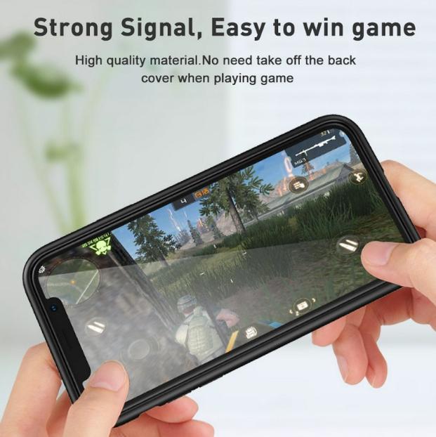 ... Cover Paradise iPhone X Premium Transparent Aluminium Magnetic Case + Free Tempered Glass 1039 / casing