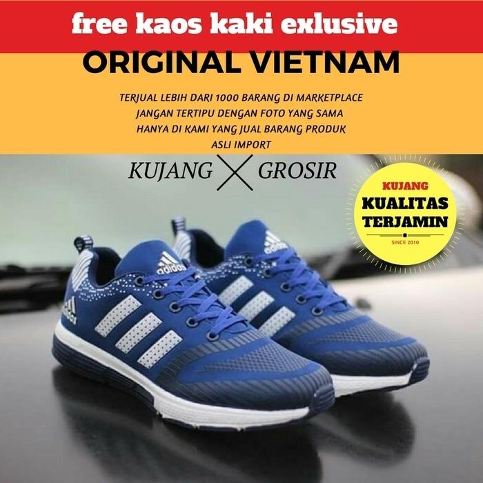 SALE -  SEPATU ADIDAS RUNNING ZX IMPORT [NAVY-WHITE]