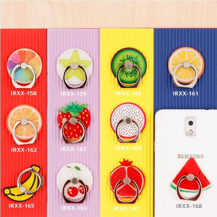 Fruit iRing/ Ring Holder/ Cincin HP / Ring Stand Karakter Seri 26