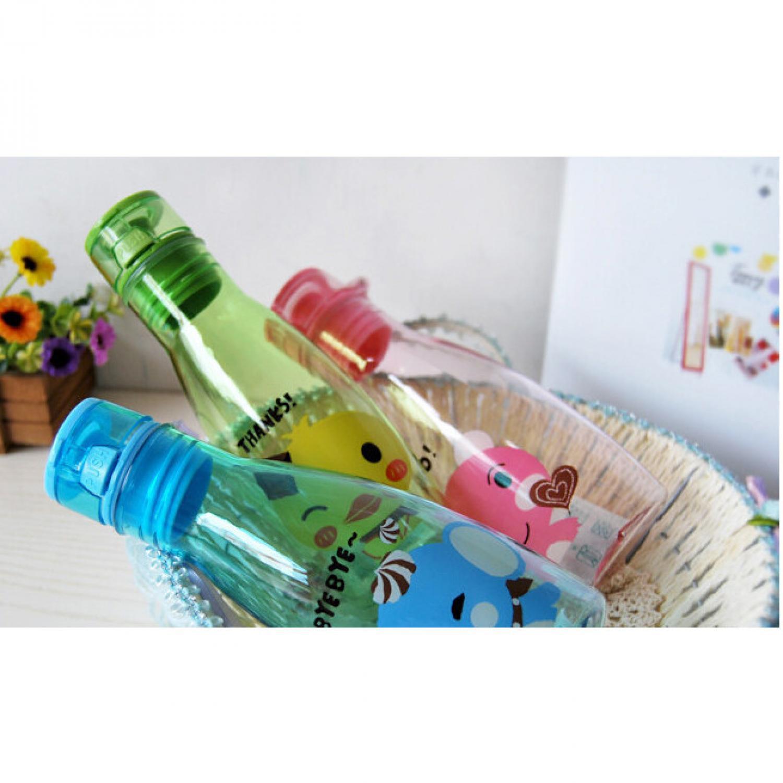 Cek Harga Baru Best Seller Botol Minum Motif Kartun Lucu Murah Memo Water Bottle A5 Unik Kekinian 3