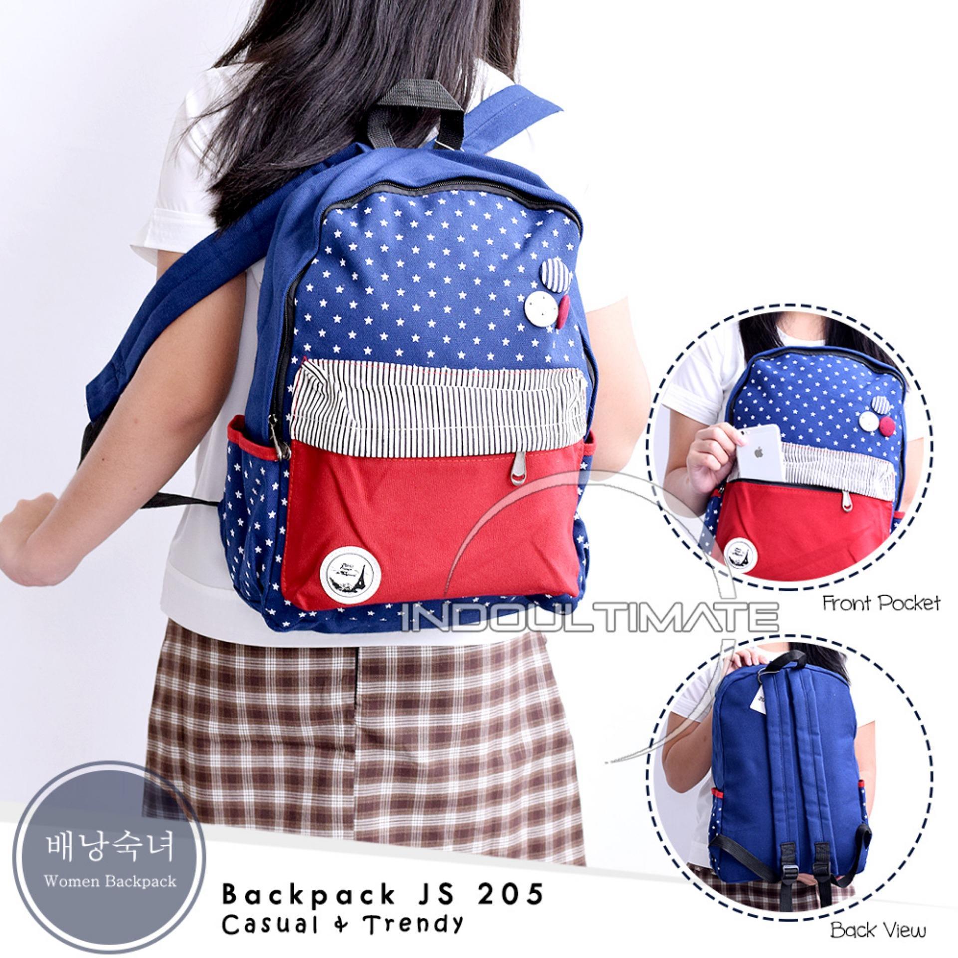 Ulasan Lengkap Tas Ransel Kanvas Tas Backpack Kanvas Tas Sekolah Tas Kuliah Im Js 205 Backpack