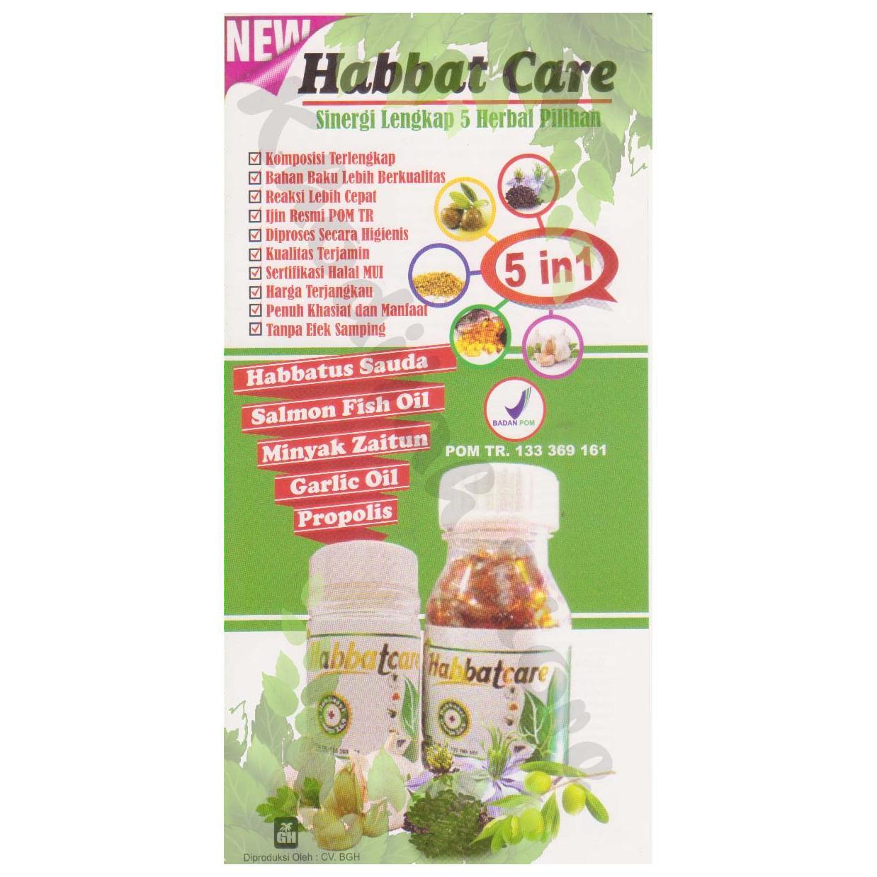 Harga Habbatcare 5 In 1 Habasyi Omega 3 6 9 200 Kaps Habbatus Sauda