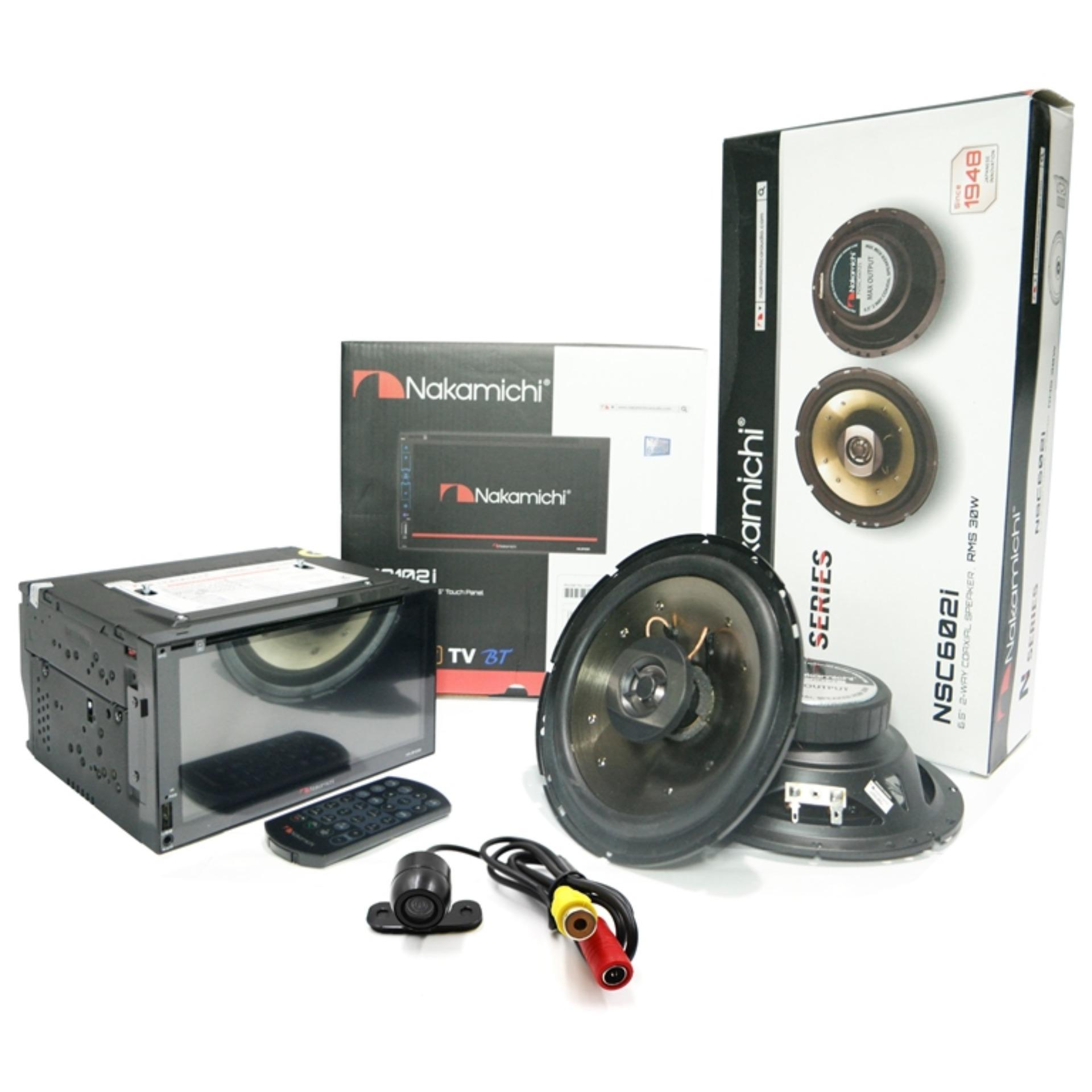 Paket Audio Multimedia Nakamichi