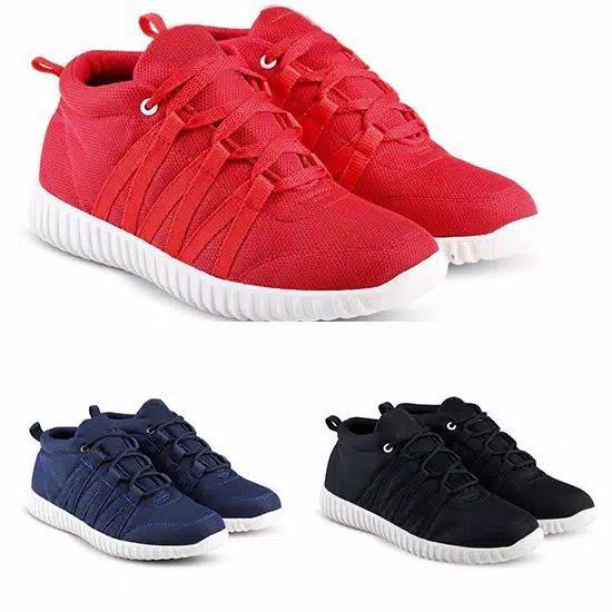 BK Sepatu Kets Sneakers Wanita/Pria VRK - Sepatu Santai