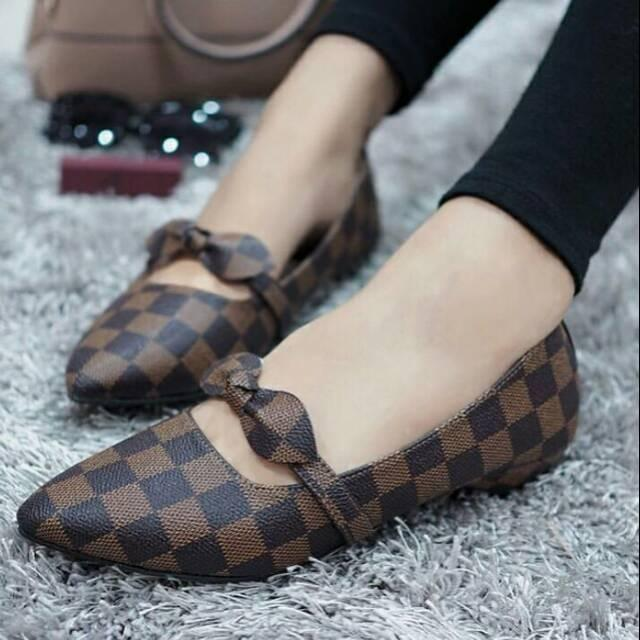 Ezell shop flat shoes pita murah