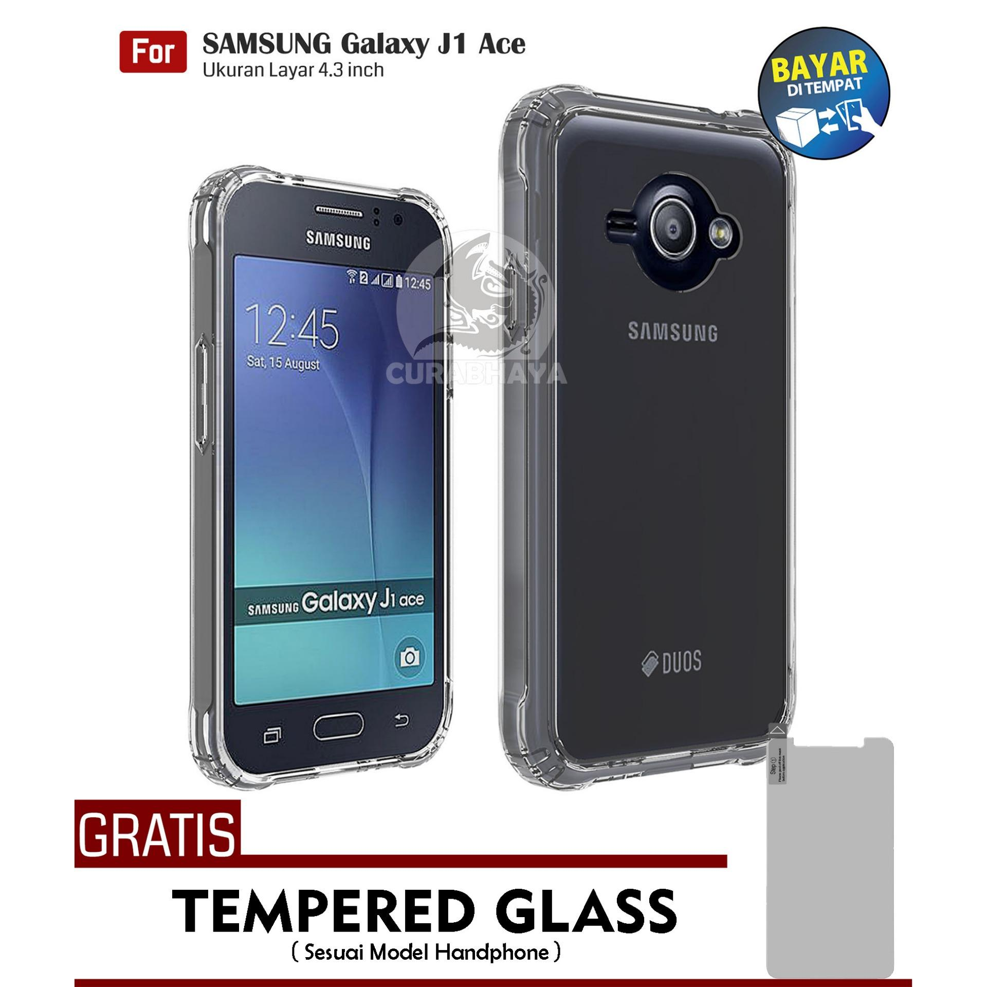 AirShock Samsung Galaxy J1 Ace / J110 / Duos | Anti Crack Premium Softcase Cushion ShockProof