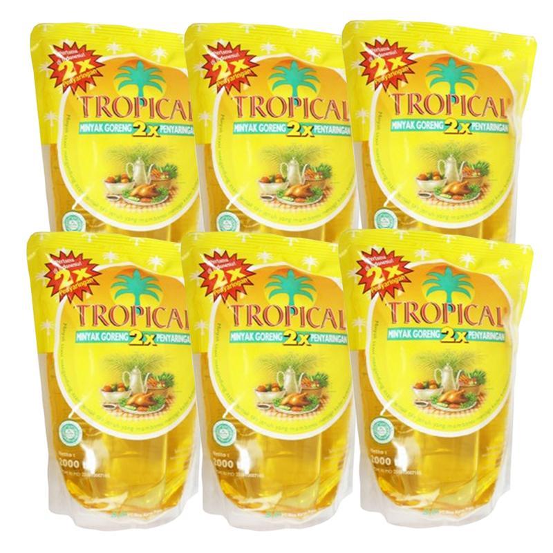 Minyak Goreng Tropical 2 Liter 1 Dus