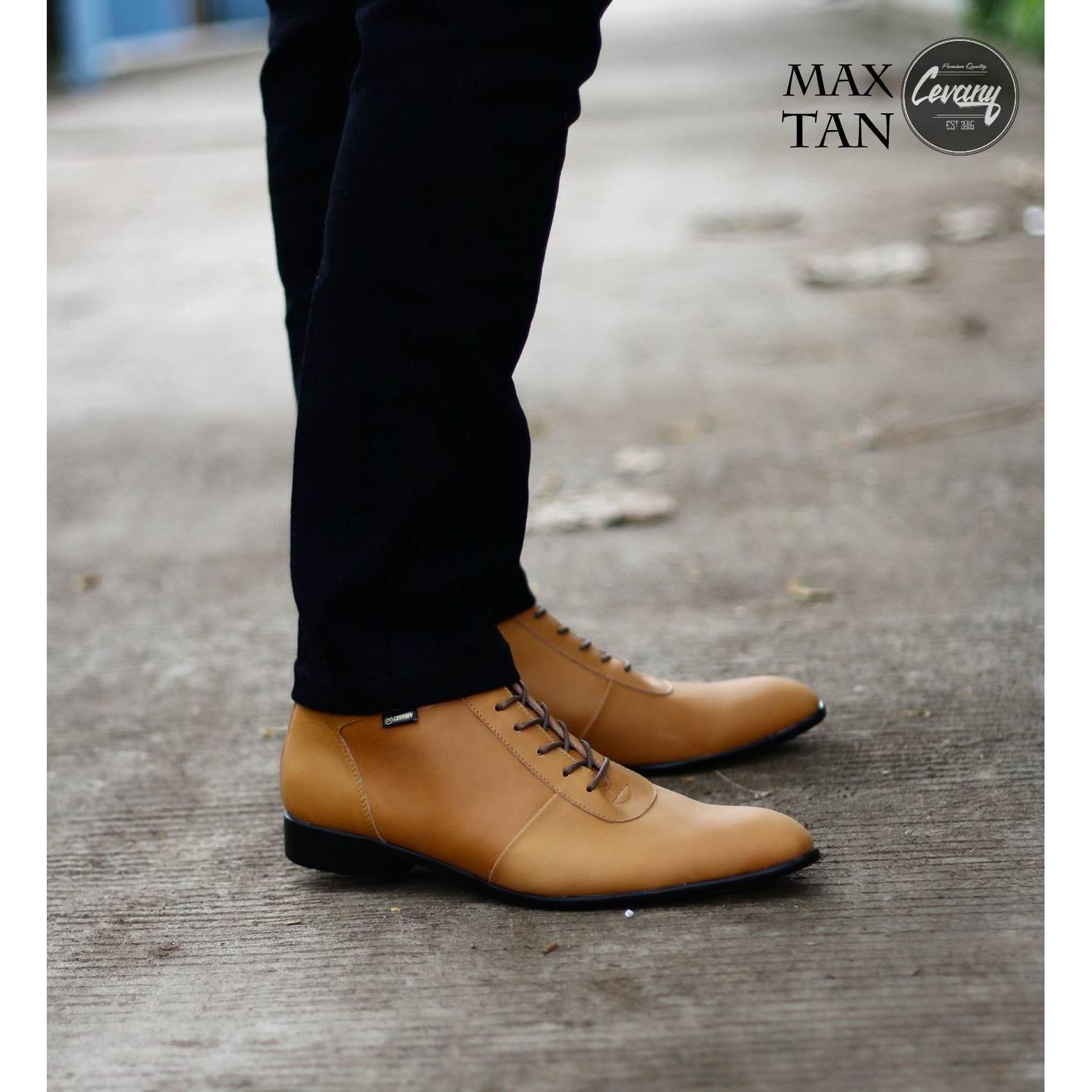 Sepatu pantofel Pria Kulit sapi - Sepatu formal kerja Kantor - sepatu wedding - sepatu wisuda