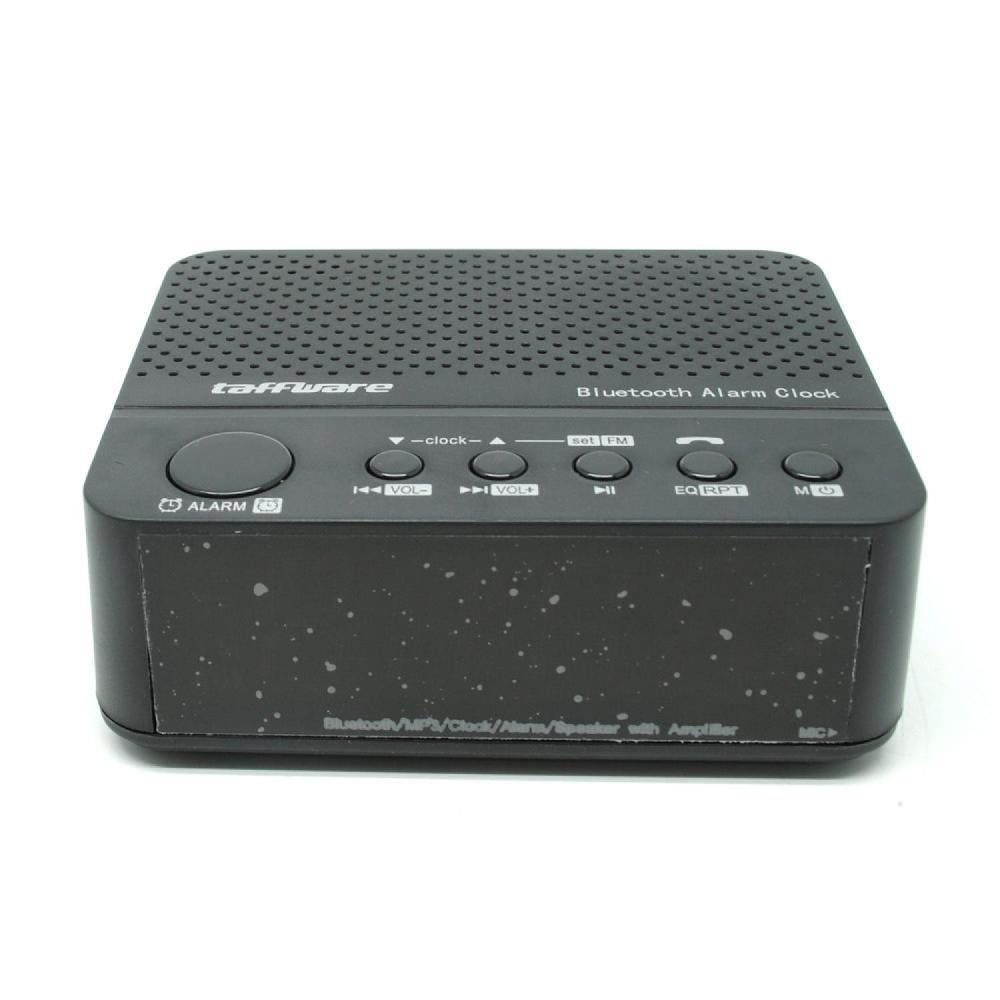 Kelebihan Jam Alarm Plus Speaker Bluetooth Fm Radio Alaram Weker Desktop Clock Meja 3