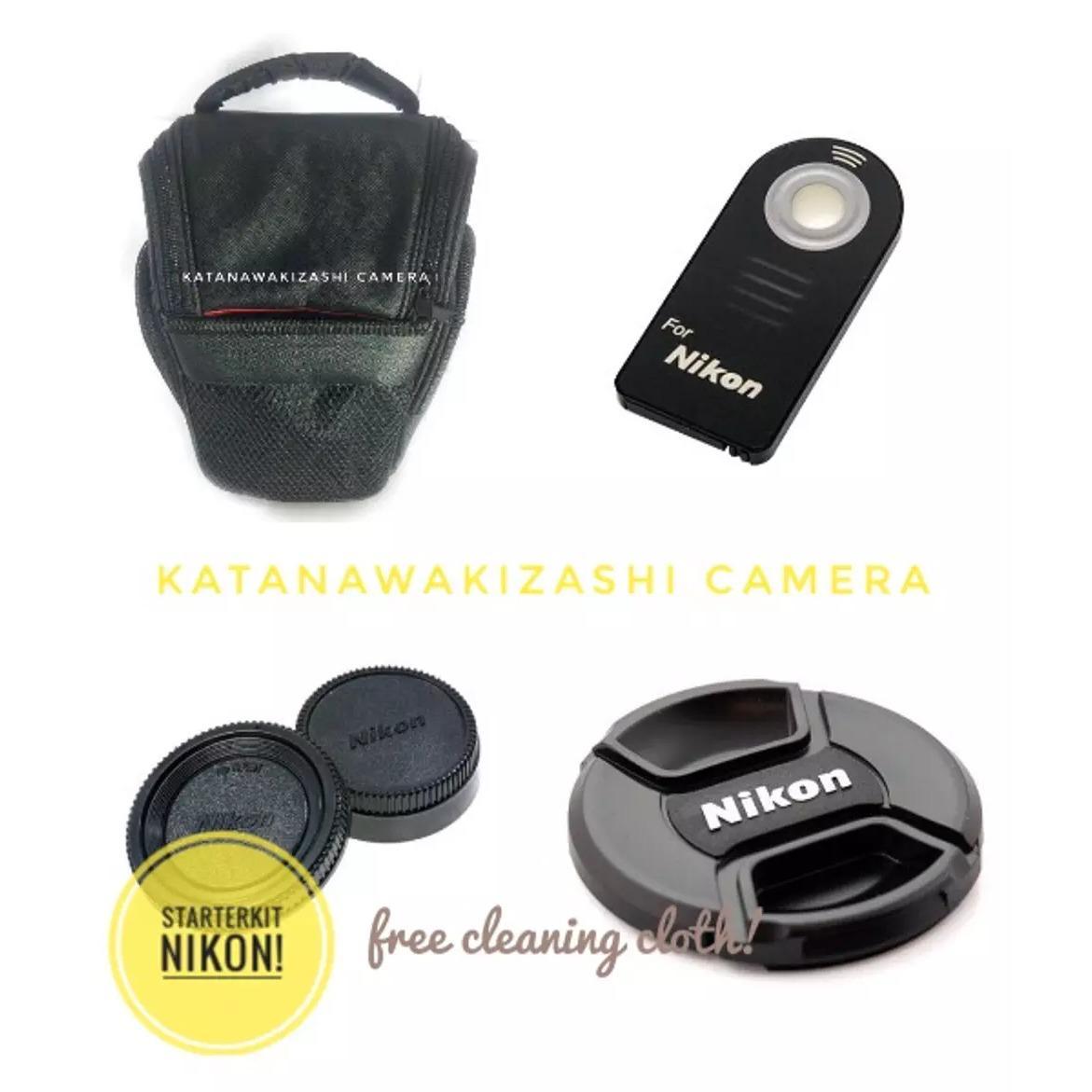 Paket Starter Kit Universal ( Tas , Remote , Front Cap 52mm , Read And Body Cap )