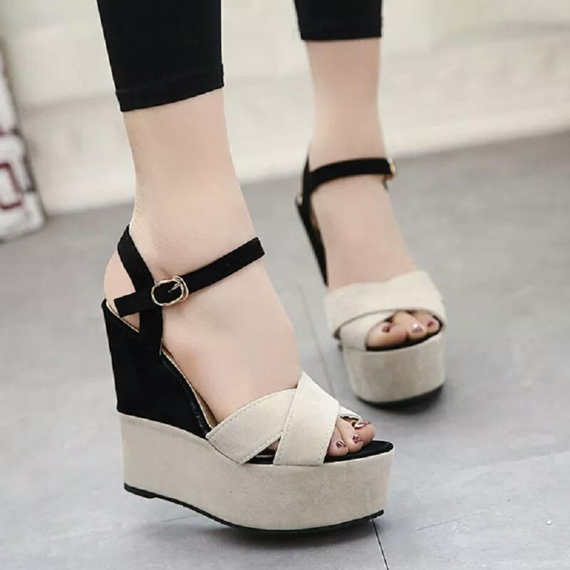 Top 10 Wedges Terlaris Murah Cantik Gws 813 Cream Online