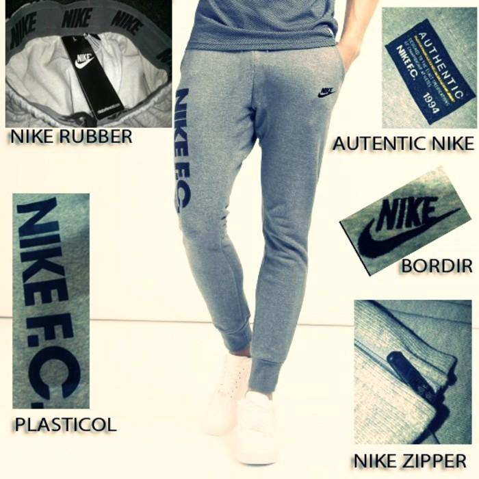 Celana Nike Fc Joger Abu Ori - Uns1yb