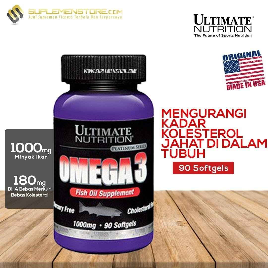 Spesifikasi Ultimate Nutrition Omega 3 Isi 90 Softgels