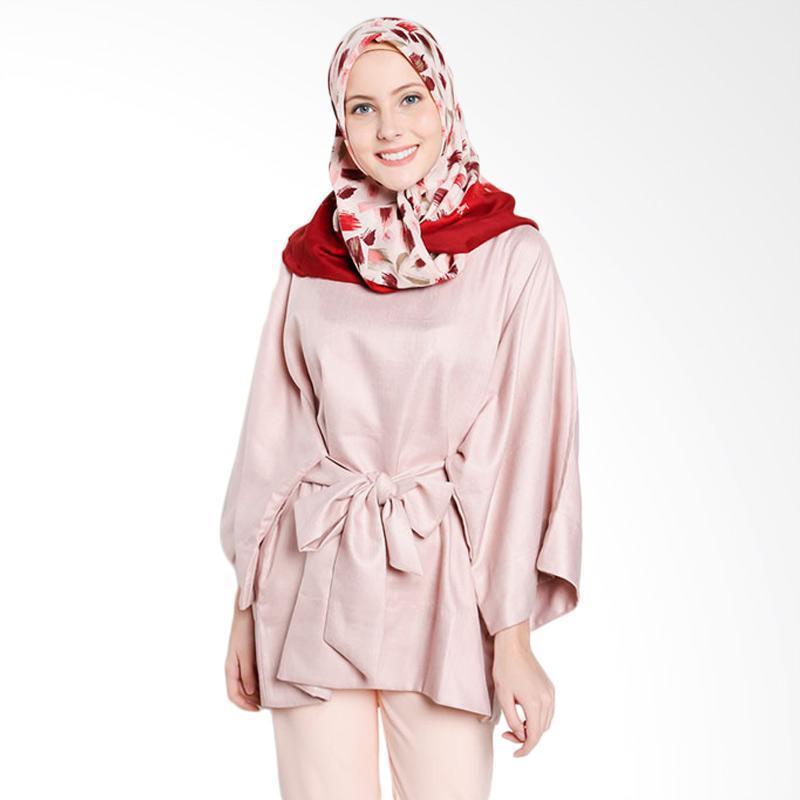 Dauky S Emera Tunic Muslim Wanita - Pink