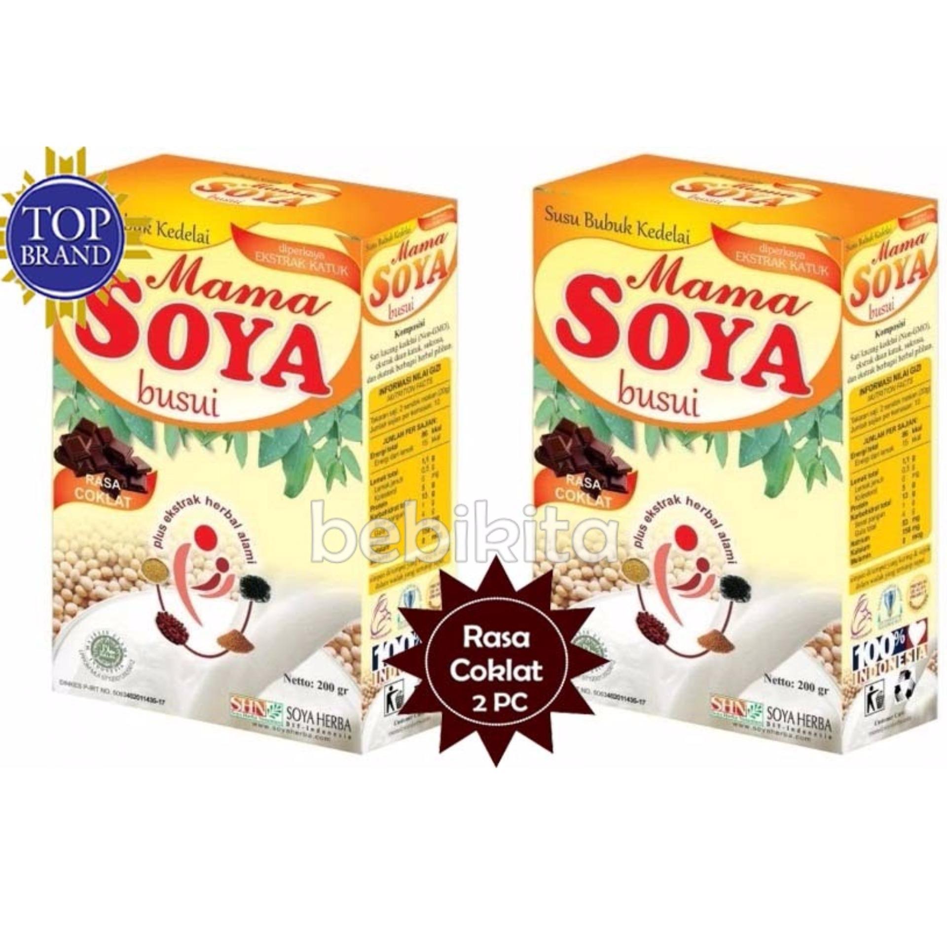 Review Mama Soya Susu Pelancar Asi Booster Rasa Coklat 200 Gr 2 Pcs Mama Soya Di Jawa Timur