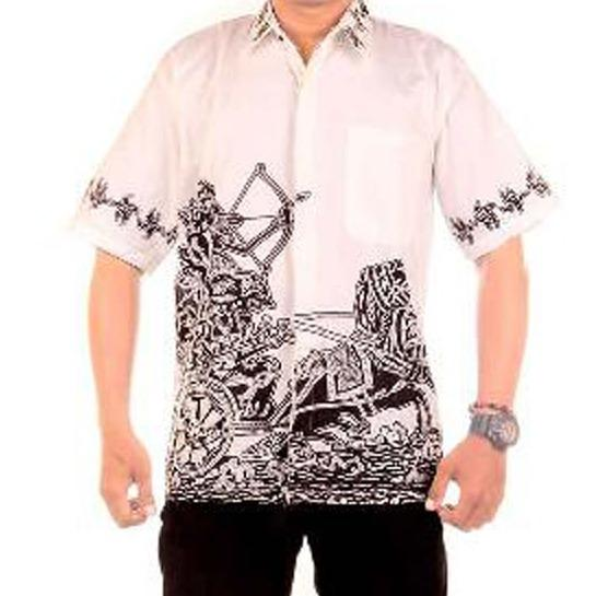 Kemeja Batik | Koko pria Motif Arjuna Memanah Terlaris