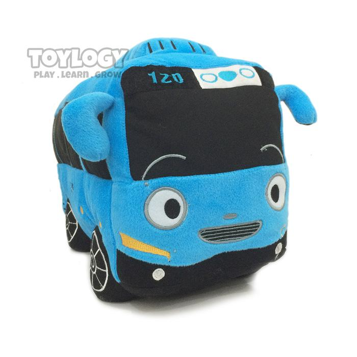 Boneka JUMBO Bus Tayo  ( Tayo Bus Plush Doll  ) 50 cm - Bordir