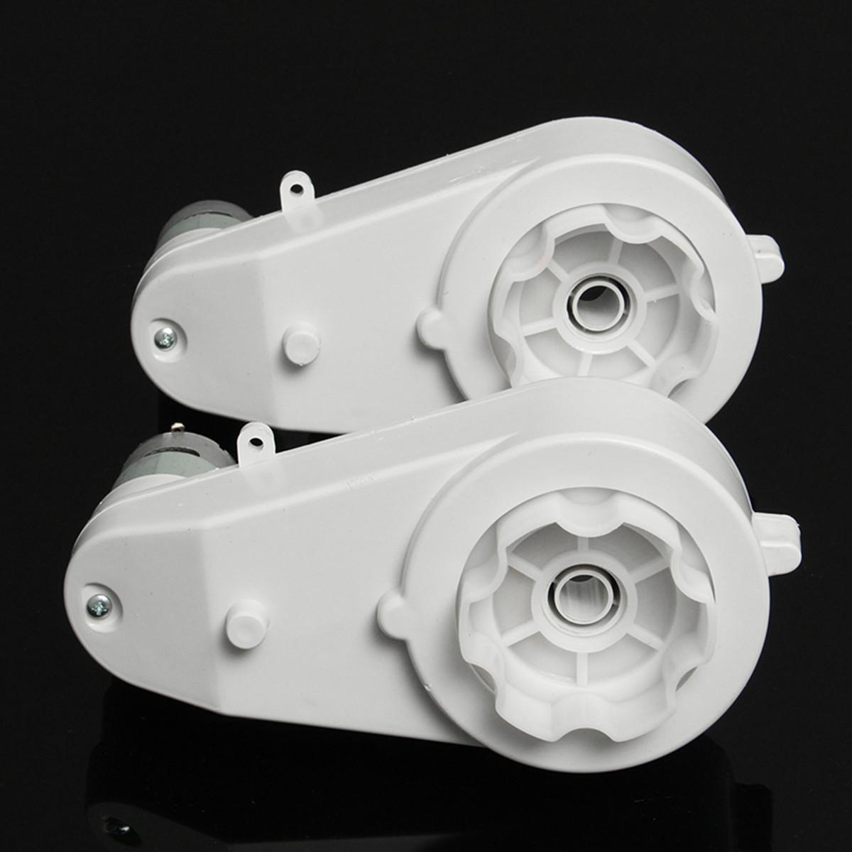 ... 2 Pcs Motor Perlengkapan-Kotak 12 V 23000 Rpm untuk Anak-anak Listrik Sepeda ...