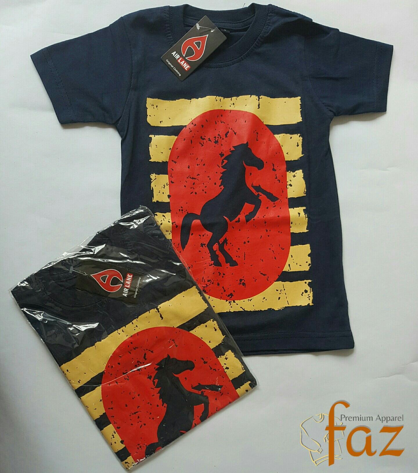 Kaos Anak Karakter - Motif Kuda