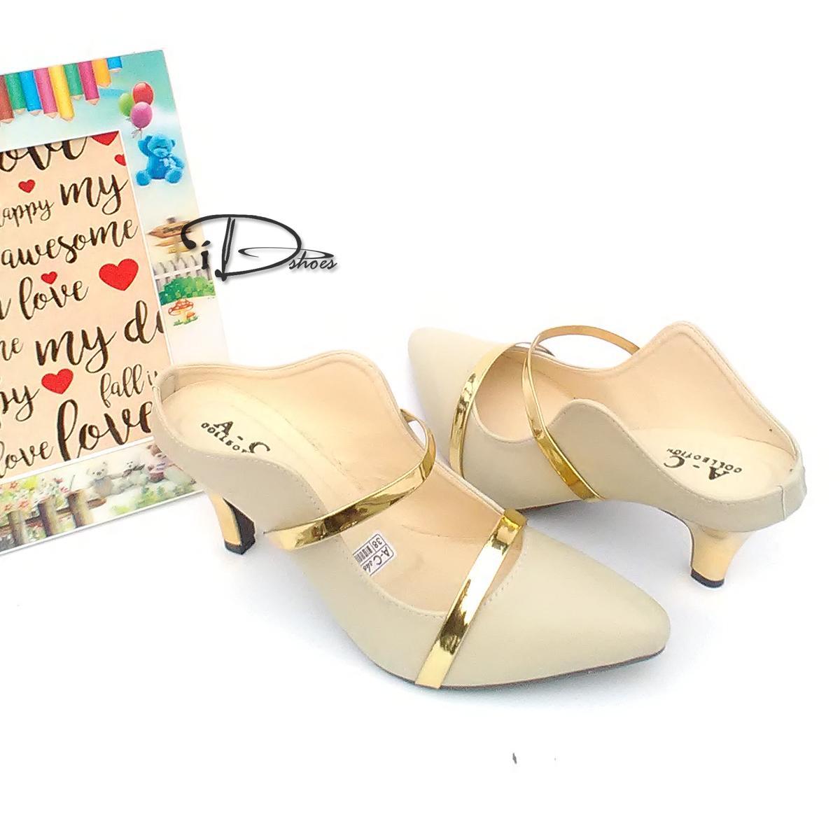 Sepatu Sandal High Heels Wanita Hj10 Cream2 Daftar Harga Terbaru D Tb41 2 S5 Cream 3