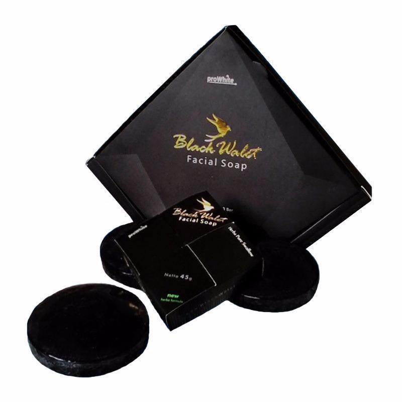 Black Walet Sabun Pembersih Muka Alami 1 Paket Isi 3 Pcs Black Walet Diskon 30