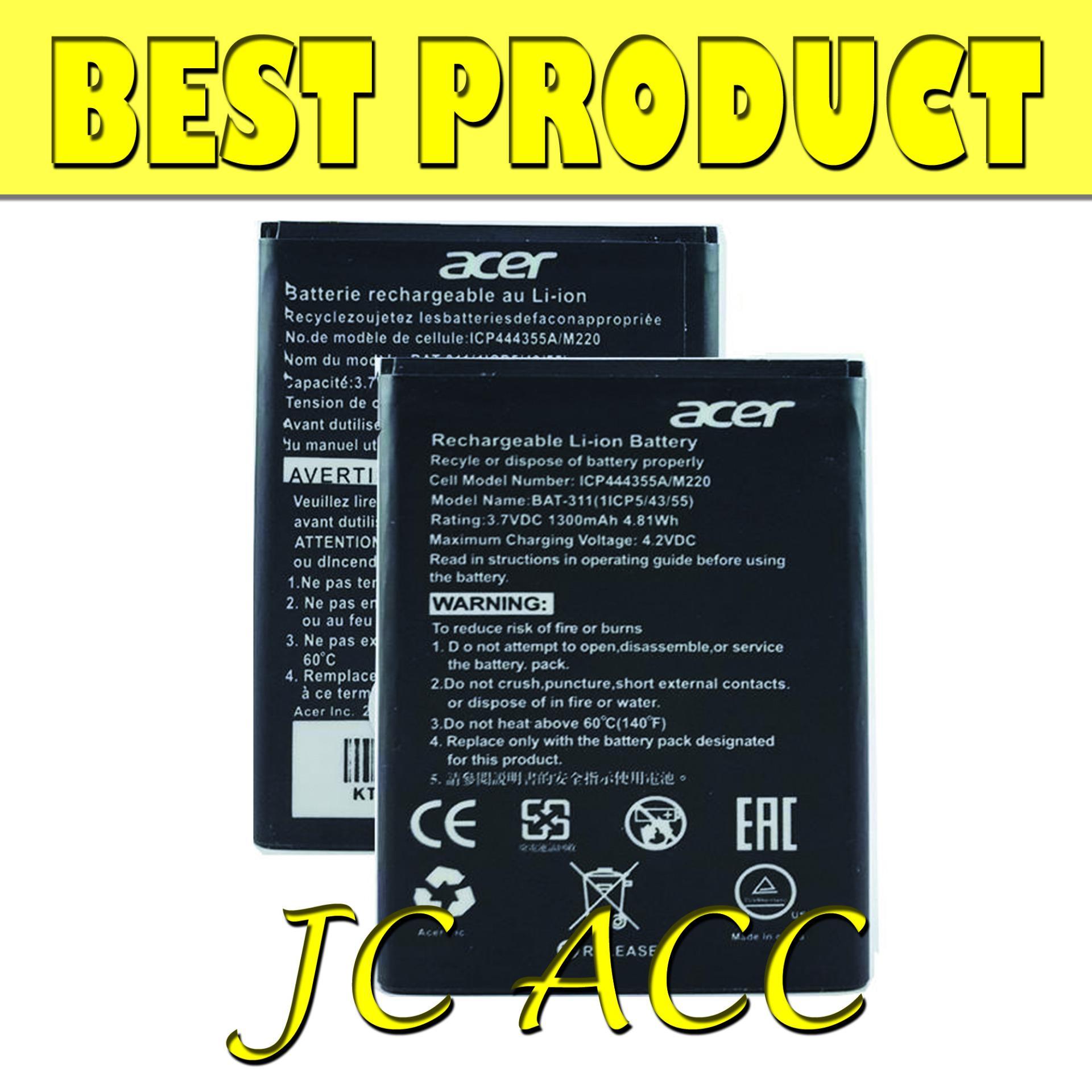 Acer Original 100% BAT-A311 Baterai for Acer Z200 / Z205 / Z220 / M220 (BEST PRODUCT)