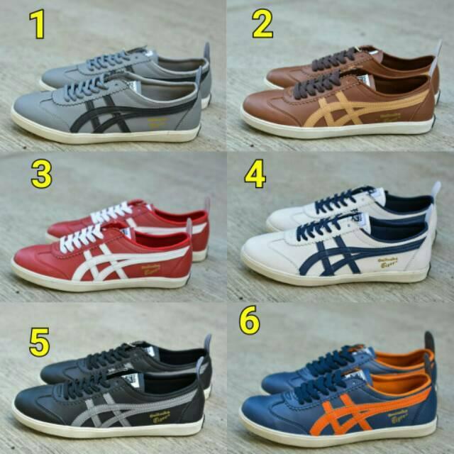Sepatu Anak Murah Asics Onitsuka Tiger Cewek Cowok Kids Sport Olahraga  Sekolah Import Lucu Keren Top edb7a21026
