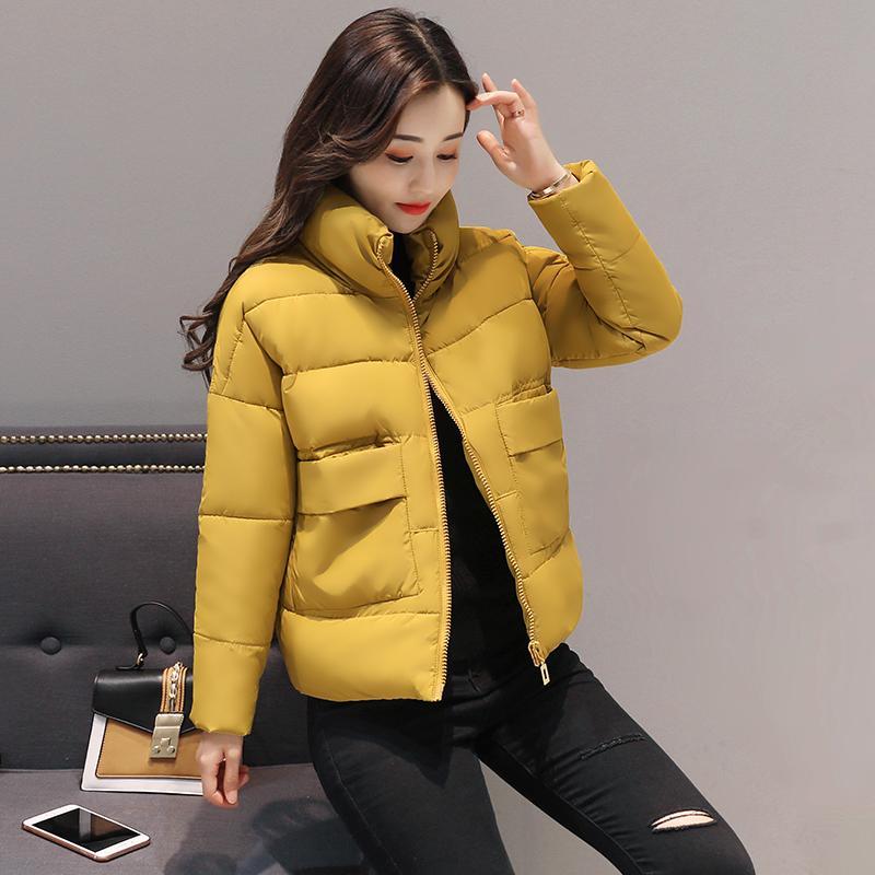 Foto kandid 2017 musim gugur musim dingin baju wanita baju model baru model  pendek jaket bulu 0229f8501c