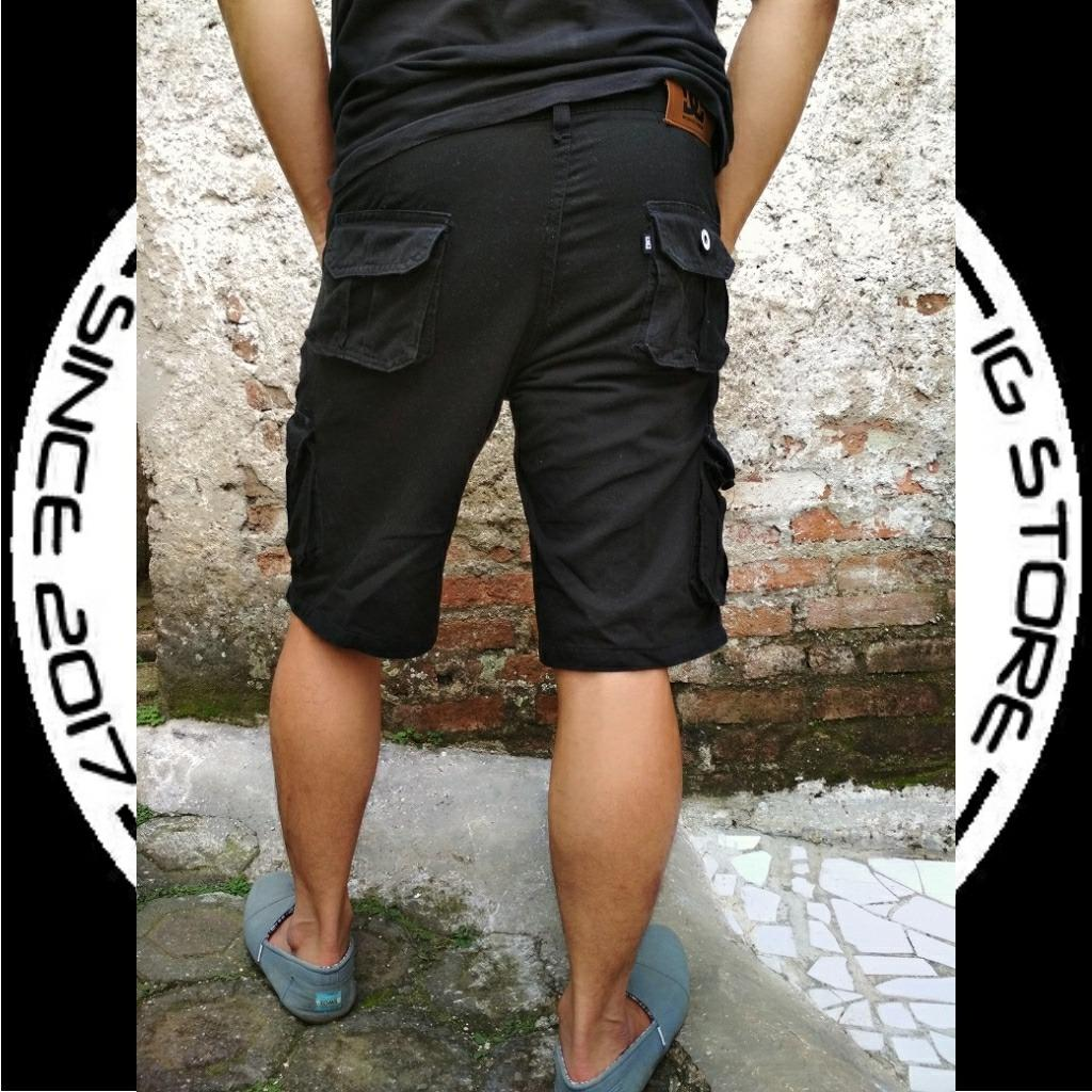 Fitur Ss Celana Cargo Pendek Fashion Pria Termurah Dan Harga Terkini Detail Gambar Terbaru